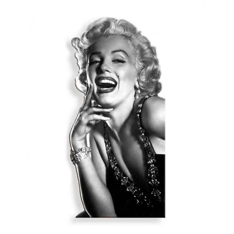 Quadro silhouette Marilyn Black