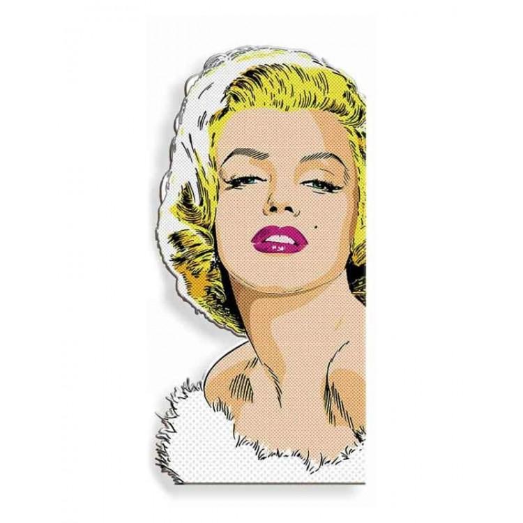 Quadro silhouette Marilyn Pop