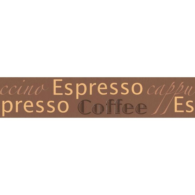 bordo adesivo Caffè Espresso Brown