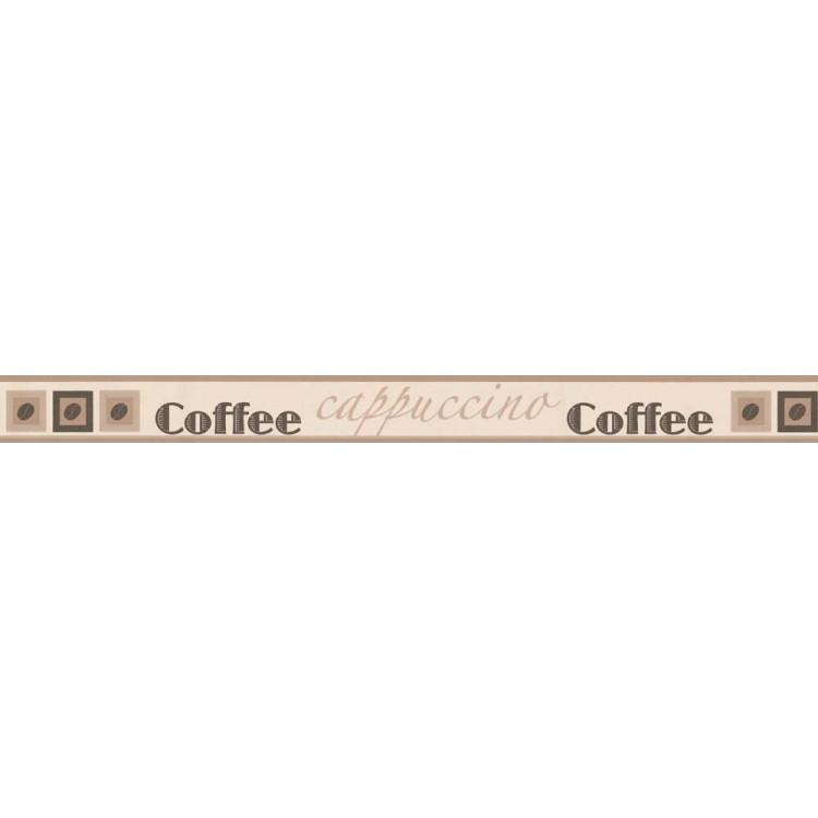 bordo adesivo Caffè Beige
