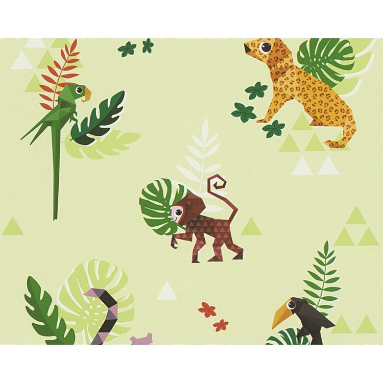 carta da parati foresta