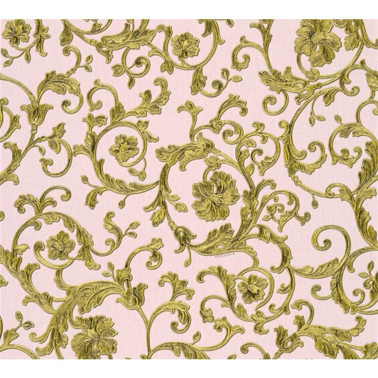 Carta da parati Versace floral