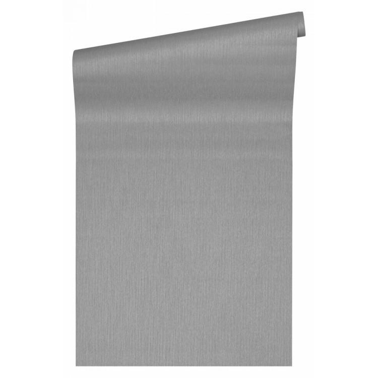 Carta da parati Versace tessuto grigio chiaro