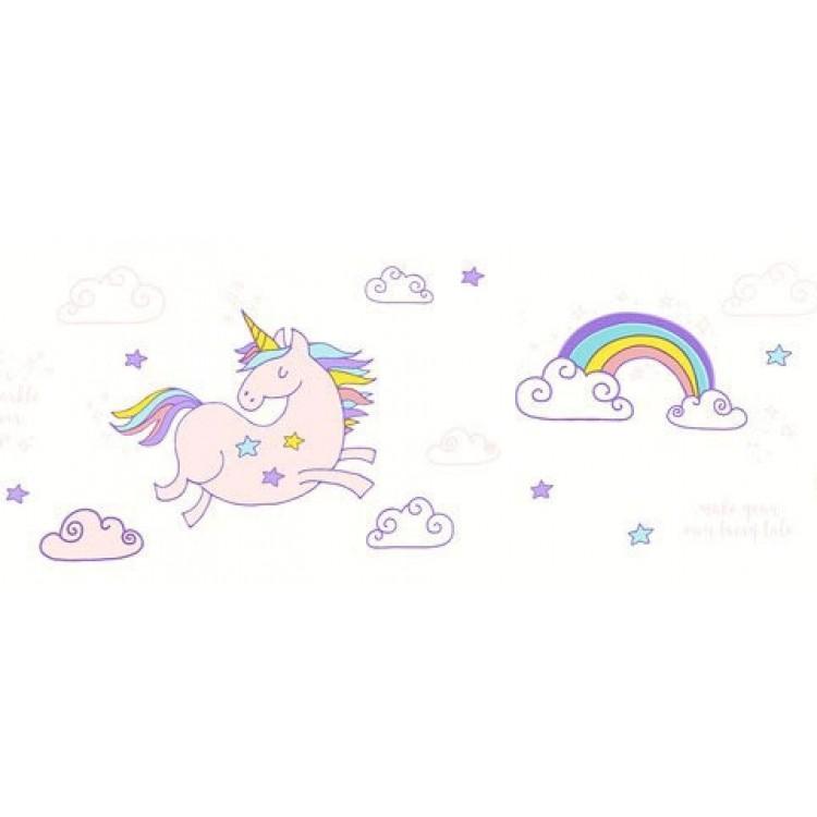 bordo adesivo Unicorni & Arcobaleni 1