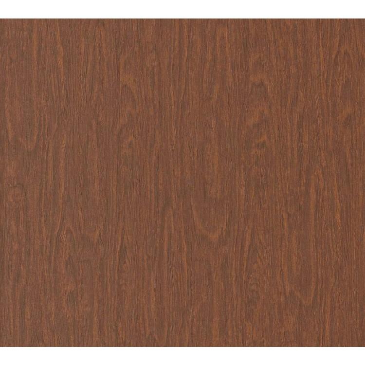 Carta da parati Versace legno marrone rosso