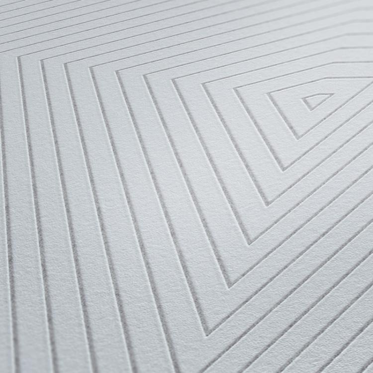 Carta da parati Geometrical grigio