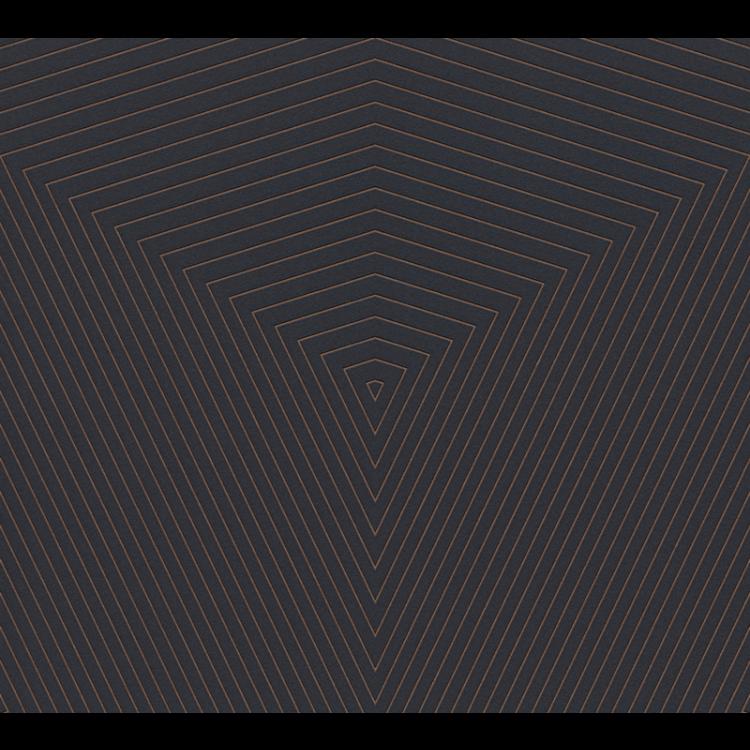 Carta da parati Geometrical nero