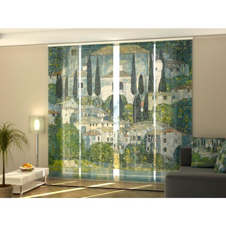 Tenda a 4 pannelli Gustav Klimt Chiesa di Cassone
