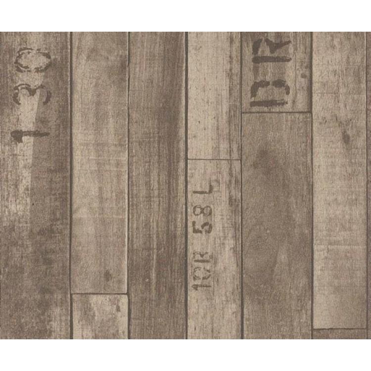 carta da parati legno vintage
