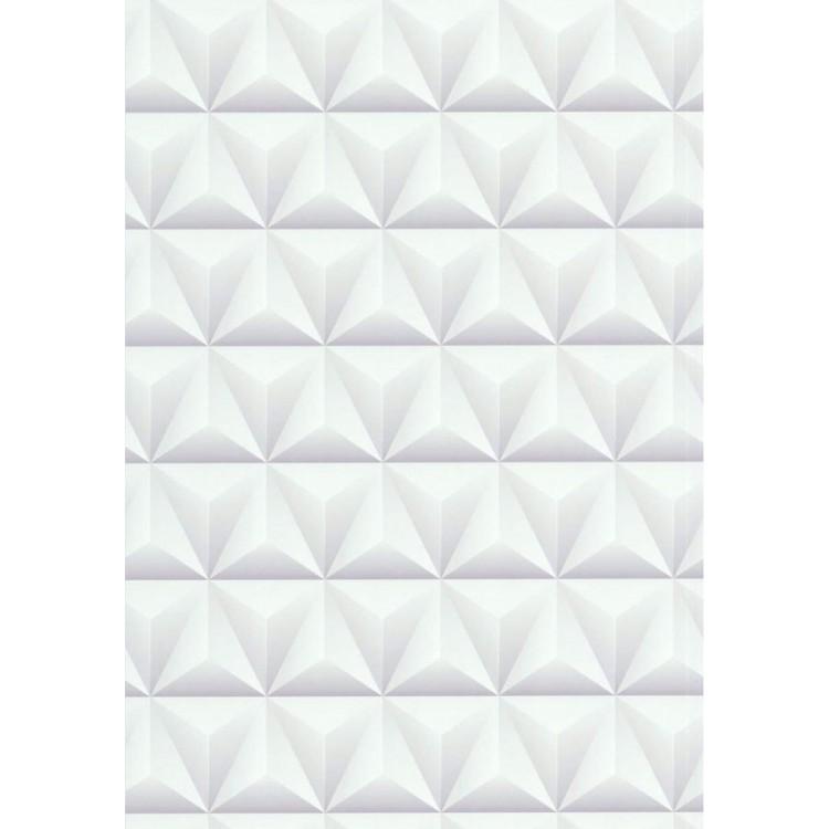 carta da parati Triangles White