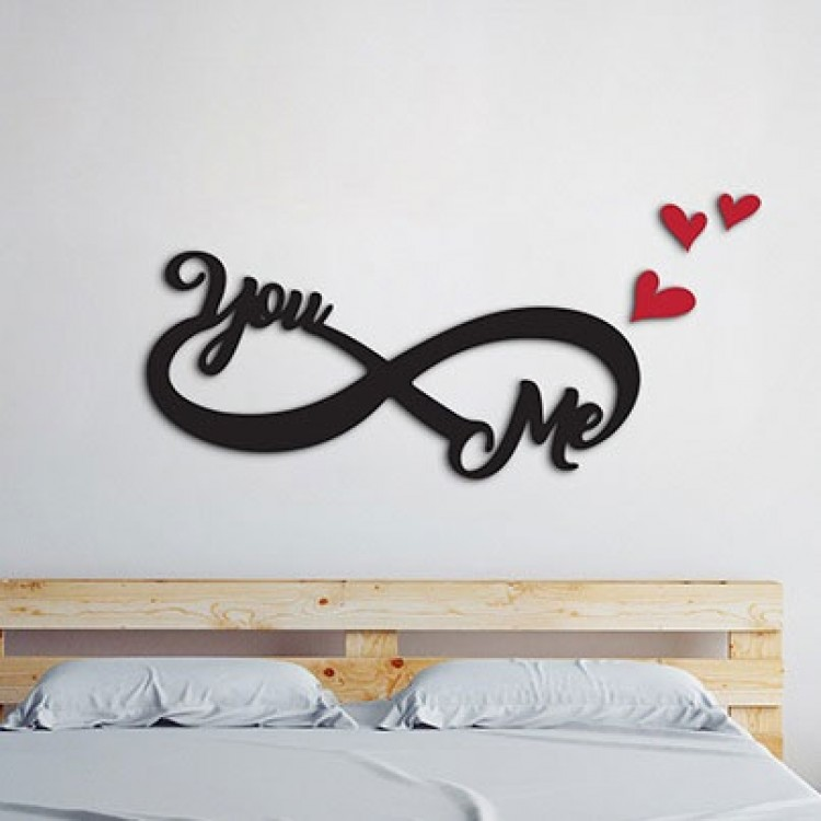 adesivo tridimensionale Forever Me & You  3d