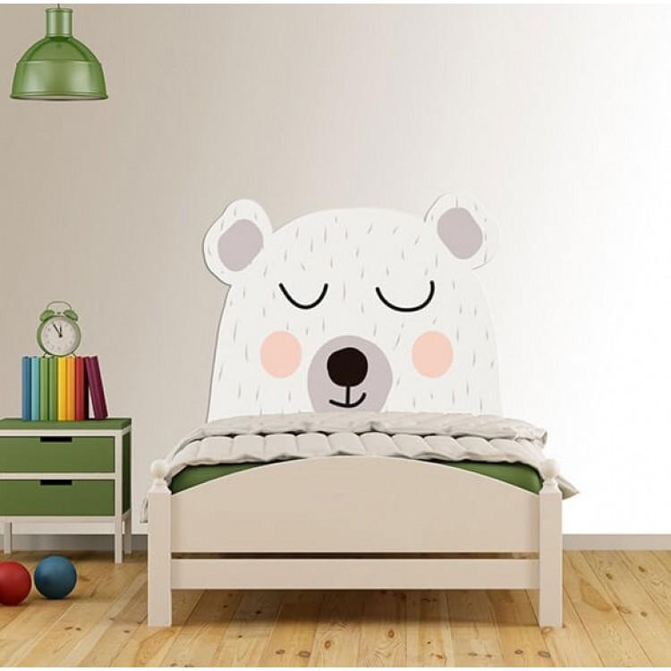 Testiera letto orso dormiglione