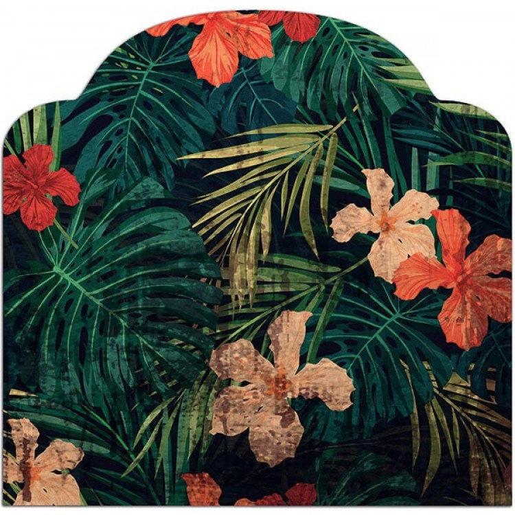 Testiera letto Tropical