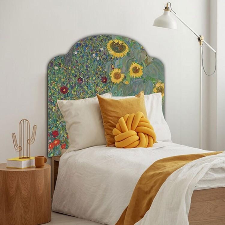 Testiera letto Girasoli Klimt