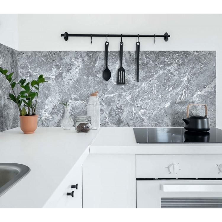 paraschizzi adesivo marmo Grigio