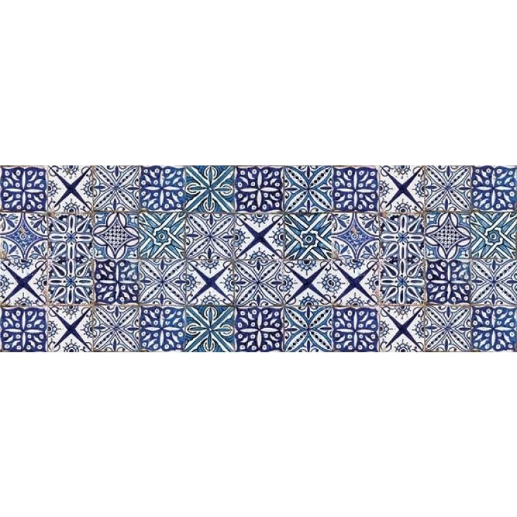 paraschizzi adesivo azulejos azzurro