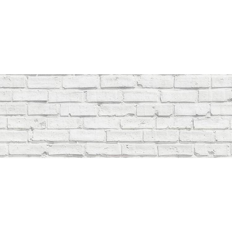 paraschizzi adesivo mattoni bianchi