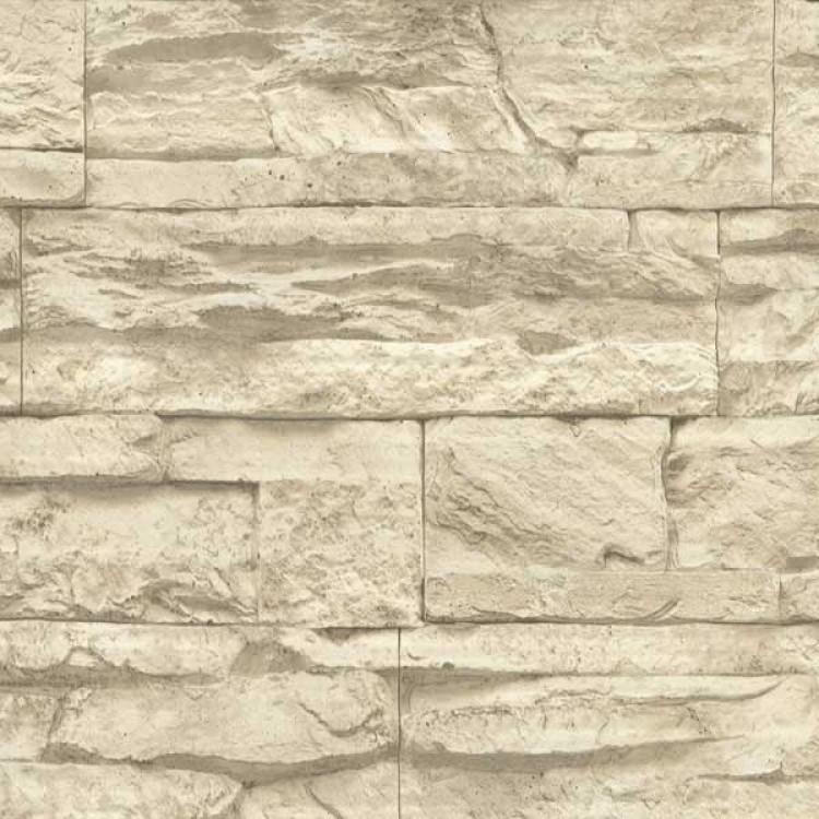 Lastre pietra beige - Carta da parati