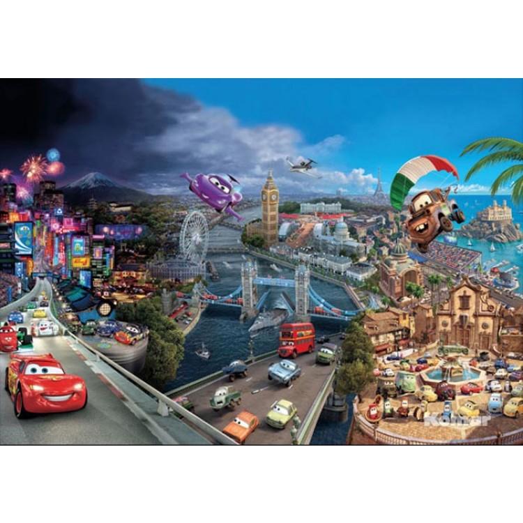 Fotomurale Il Mondo di Cars | cod. 8-400