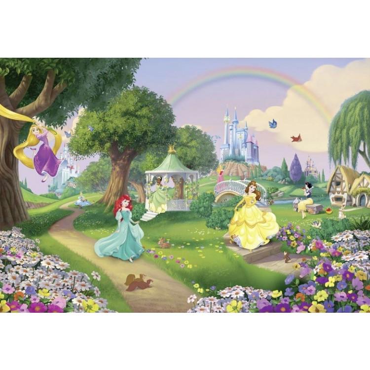 fotomurale principesse arcobaleno