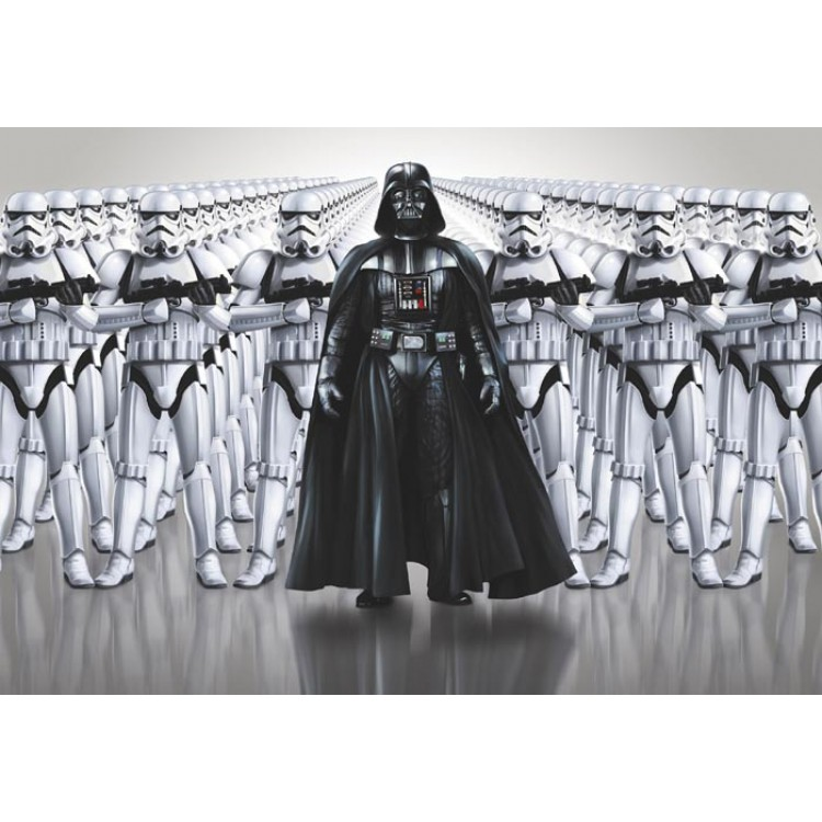 Fotomurale Star Wars forza imperiale
