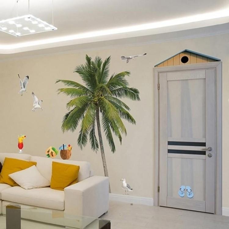 adesivo gigante palma beach
