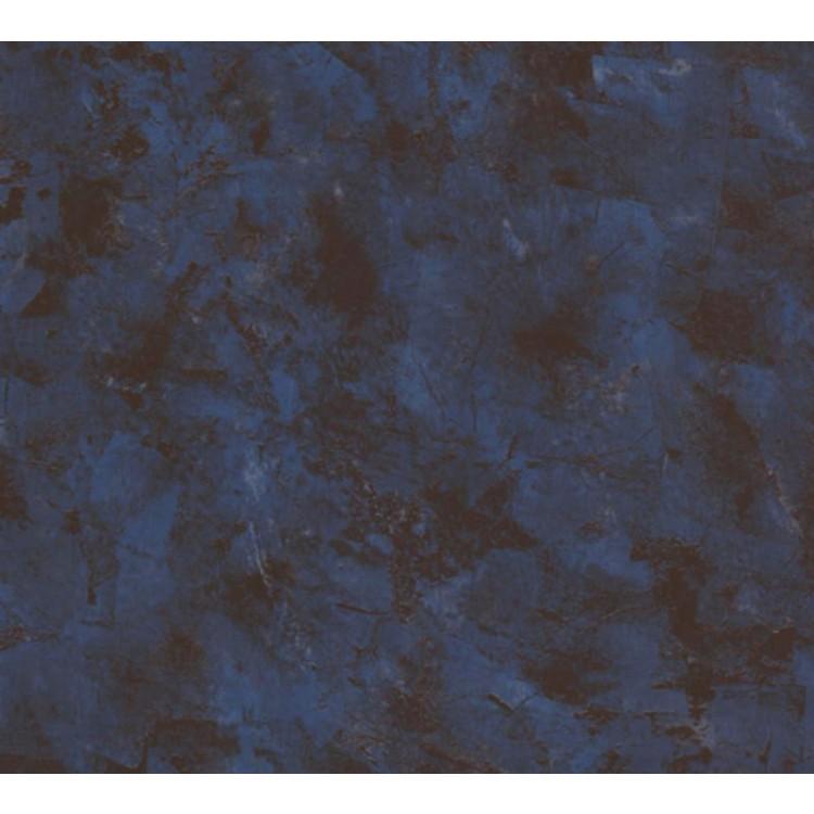 Carta da parati spatolato blu marrone