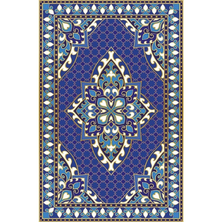 Tappeto Babilonia azzurro