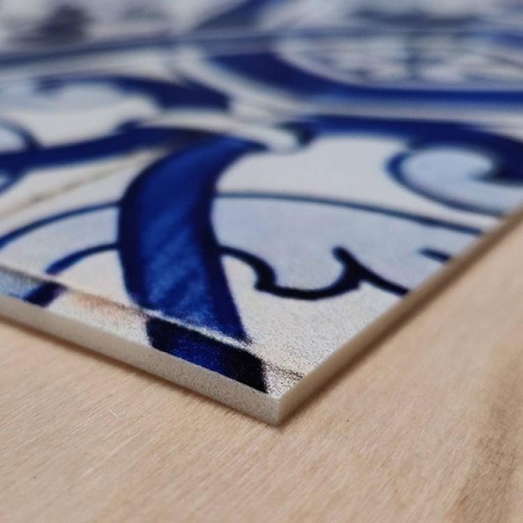 Tappeto Ornamental Blue