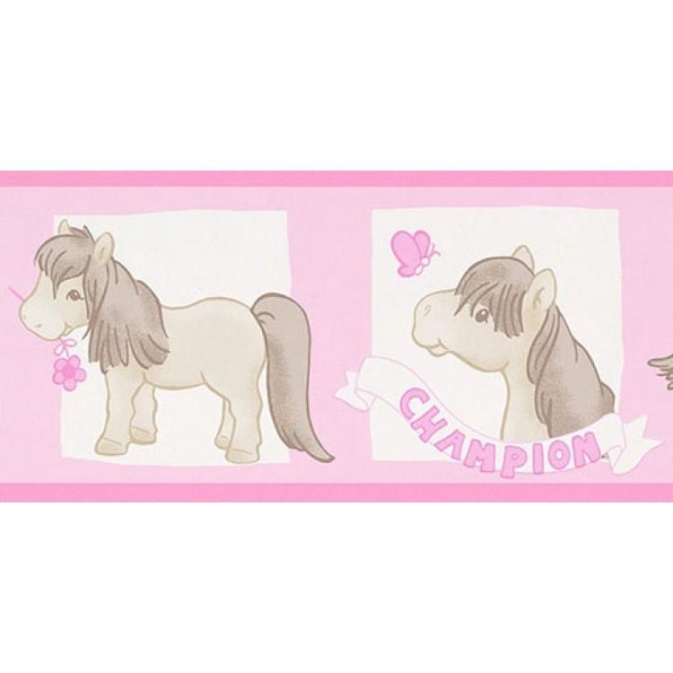 bordo adesivo pony