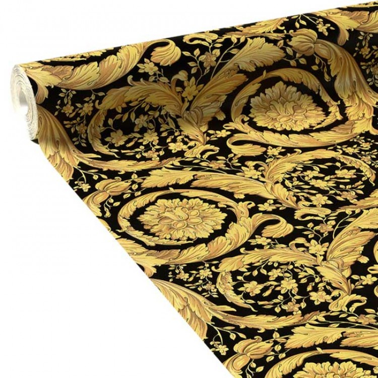 Carta da parati Versace damascato