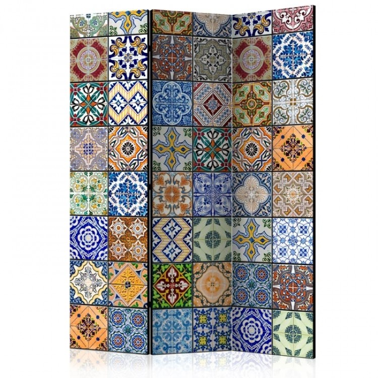 paravento azulejos