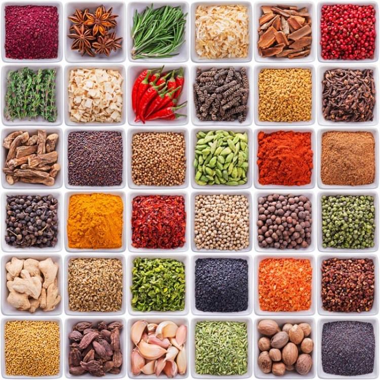 Adesivo per cucina | Spezie mediterranee