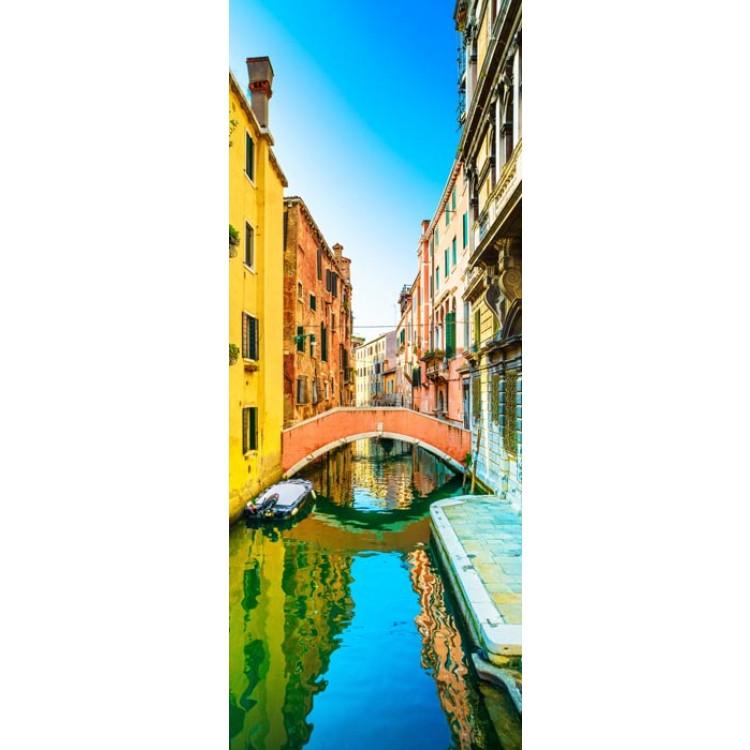 adesivo per porta venezia