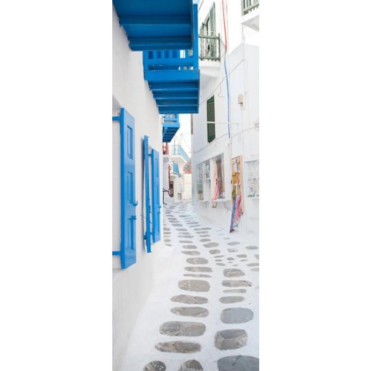 adesivo per porta grecia