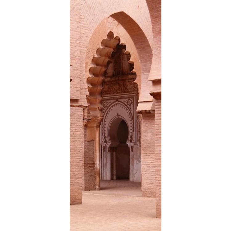 adesivo per porta archi arabi