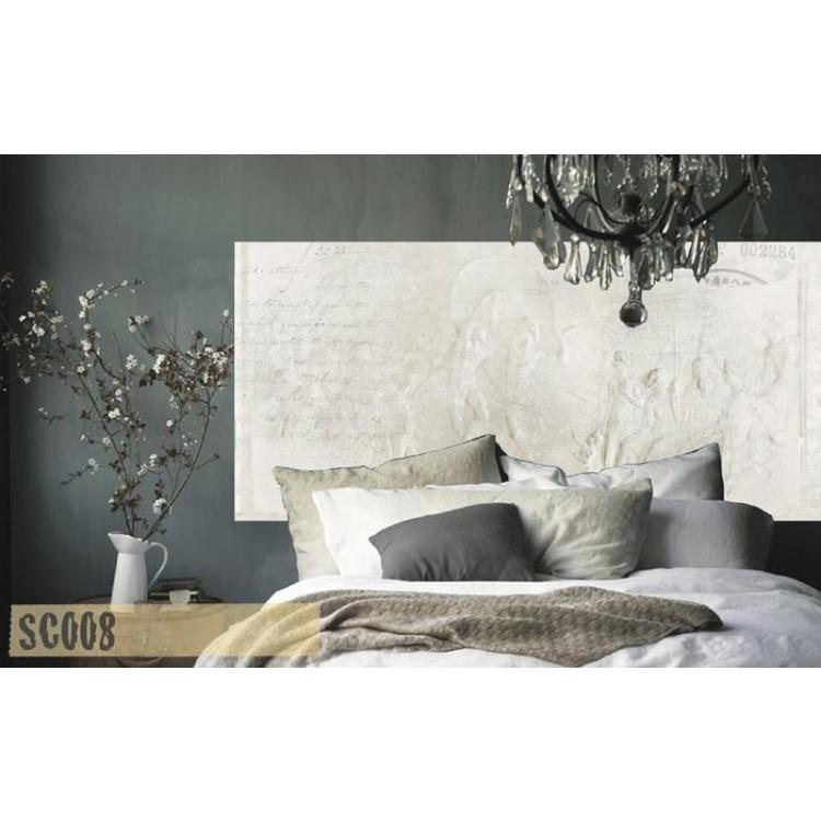 Find - Testata letto adesiva alta qualità (ambientazione)