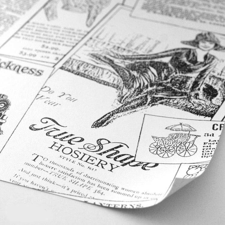 Giornali Antichi - Carta da parati