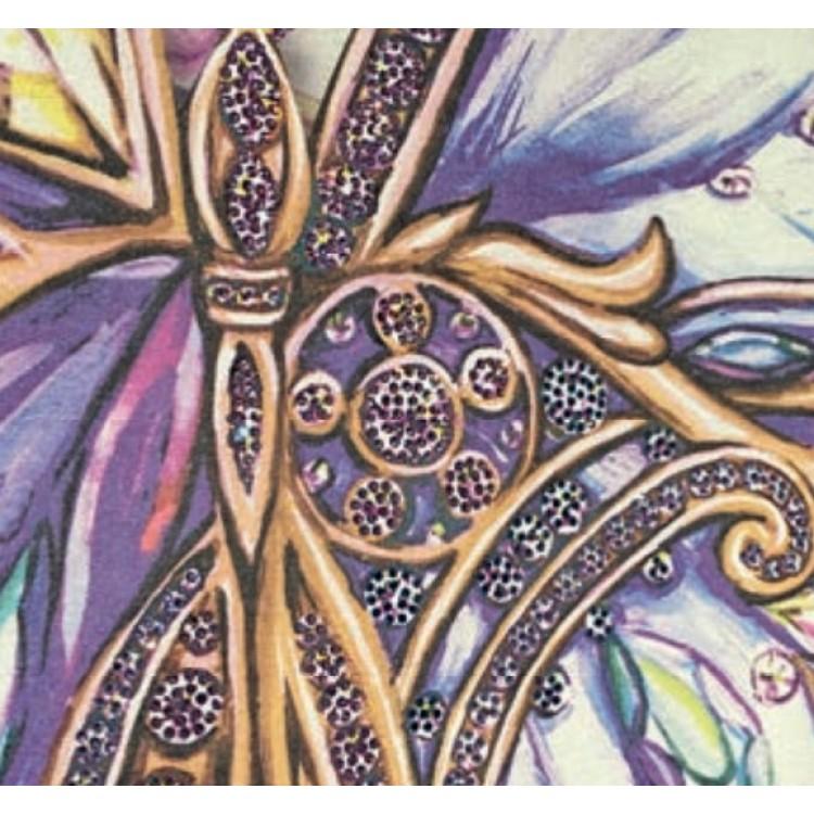 Carta da parati Blumarine Farfalle Gioiello cristalli