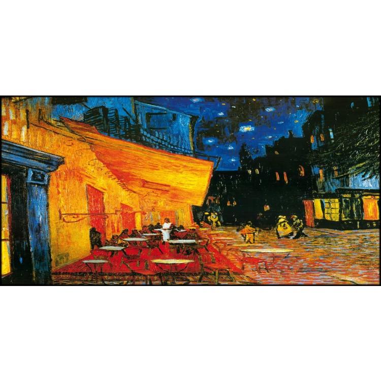 Terrazza Del Caffè La Sera Di Van Gogh Quadro Alta Qualità
