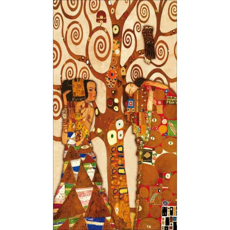 Attesa, albero e abbraccio | Klimt