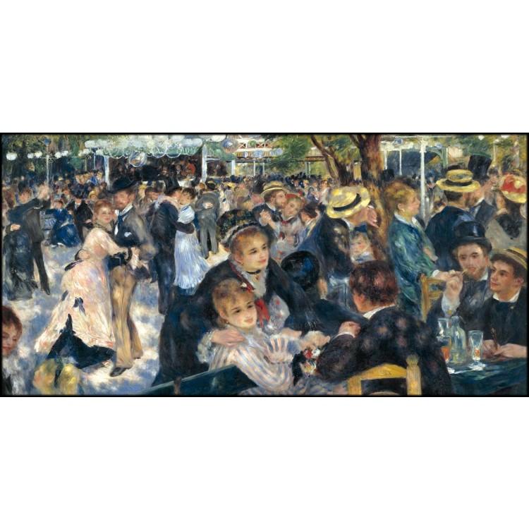 Bal au moulin de la Galette | Quadro Renoir