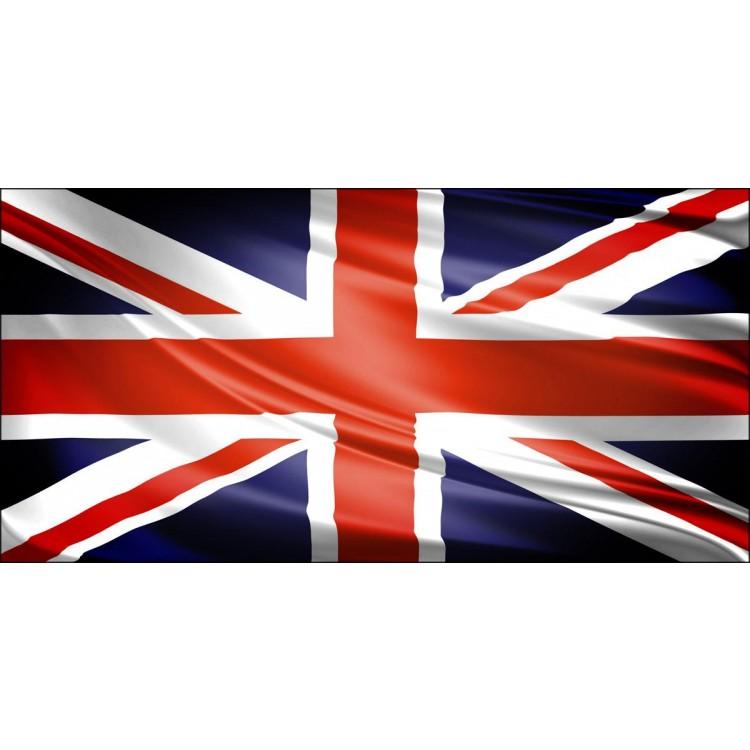 Bandiera Inglese   Quadro Londra su tela