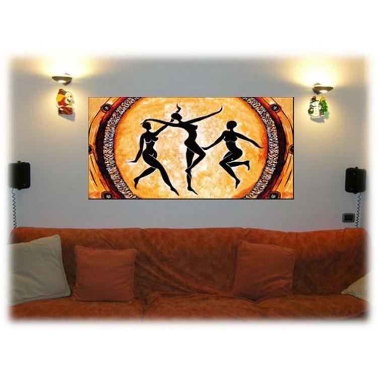 Quadro su tela La Danza | Ambientazione