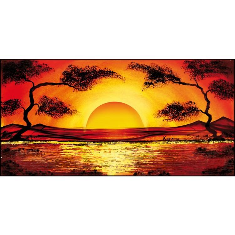 Quadro su tela Red Sunset