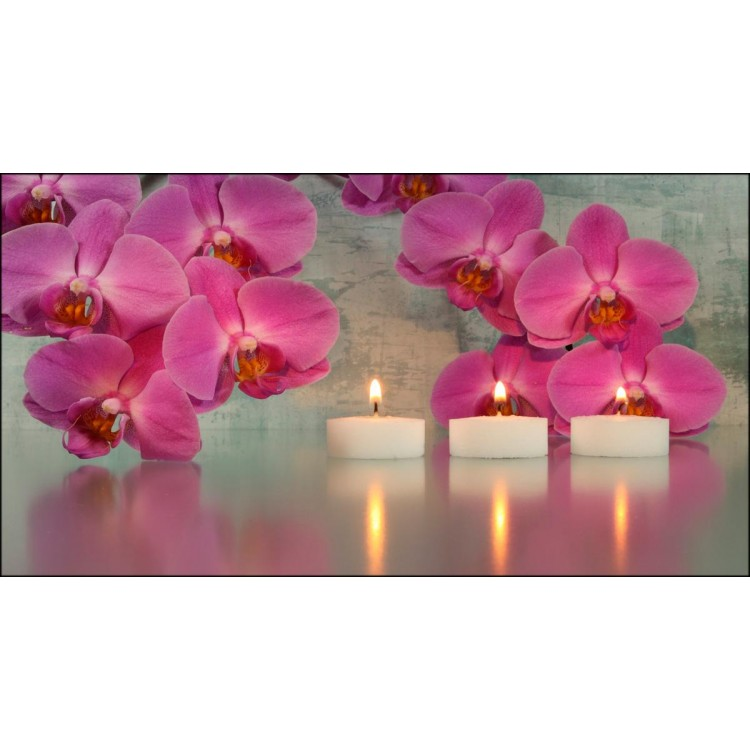 Quadro su tela Three Candles