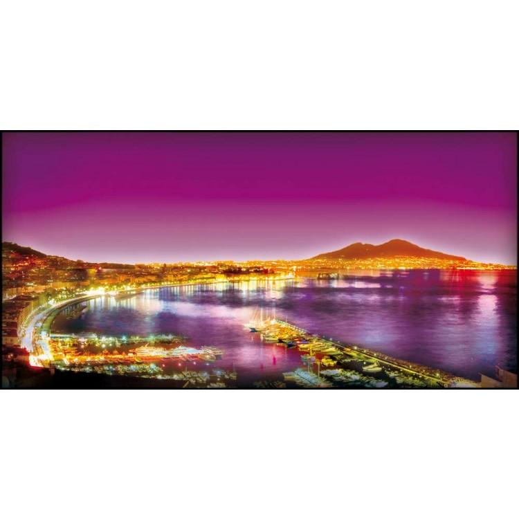Napoli violet   Quadro su tela