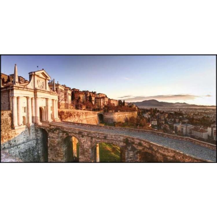 Bergamo Porta San Giacomo | Quadro su tela