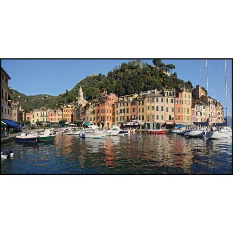 Genova Portofino | Quadro su tela