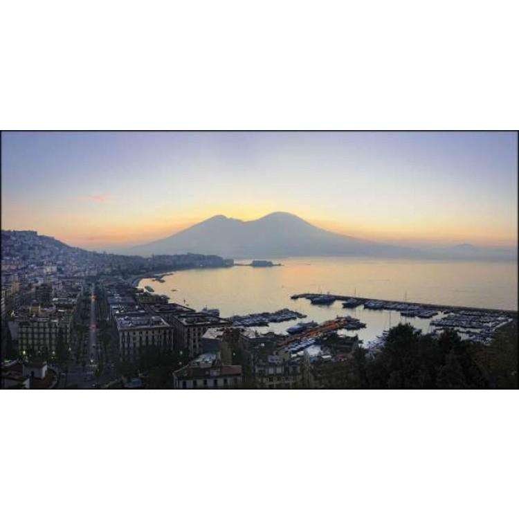 Napoli all'alba | Quadro su tela